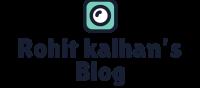 Rohit kalhan's Blog